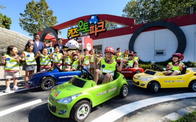 Hyundai Motors Renews Kids' Auto Park