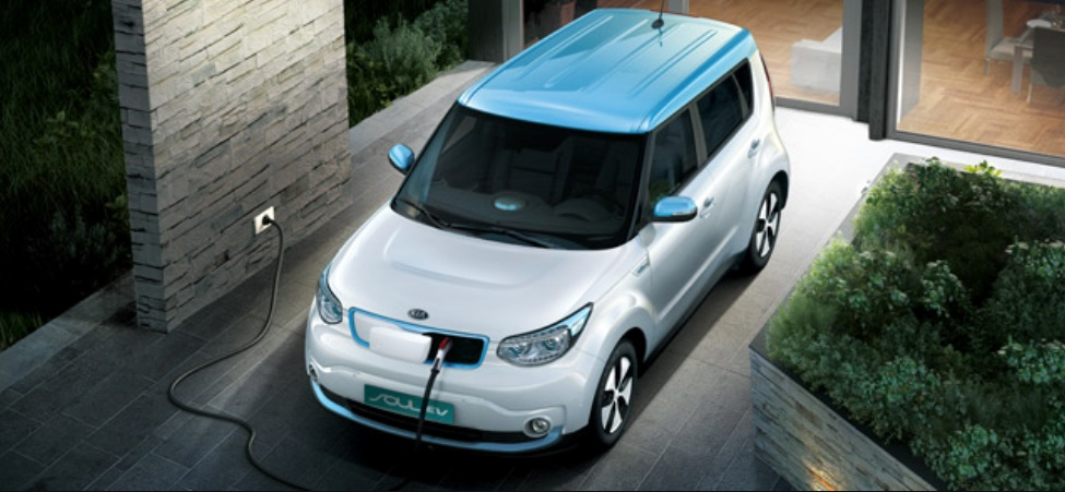 Kia's Soul EV ranked first in terms of sales in South Korea's electric vehicle market. (image courtesy of Kia Motors)