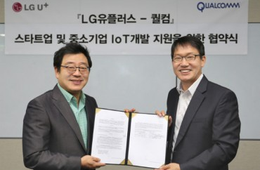LG Uplus, Qualcomm to Support S. Korean Startups