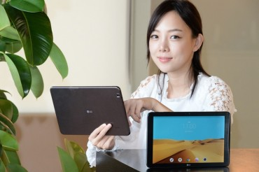 LG Electronics to Release New Tablet PC This Week