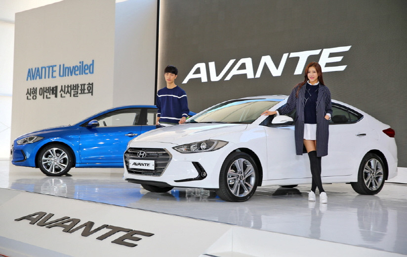 Hyundai Motor aims to sell 50,000 units of the new Avante in the domestic market this year. (image: Hyundai Motor)