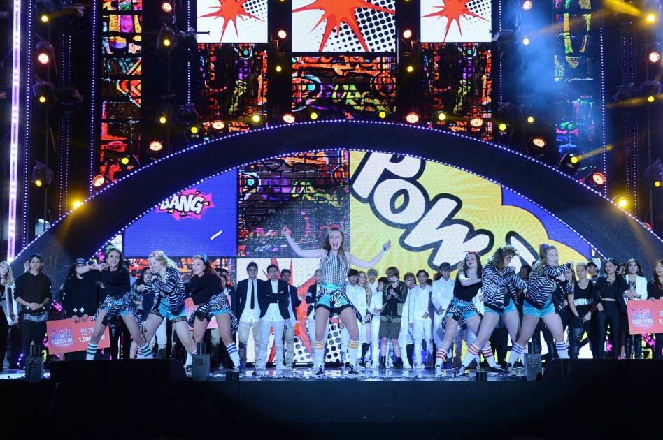 The 14 finalists, representing countries as diverse as Australia, Finland, Ecuador and Vietnam, will visit South Korea from Oct. 23 to Nov. 1. (image: K-pop World Festival 2015)