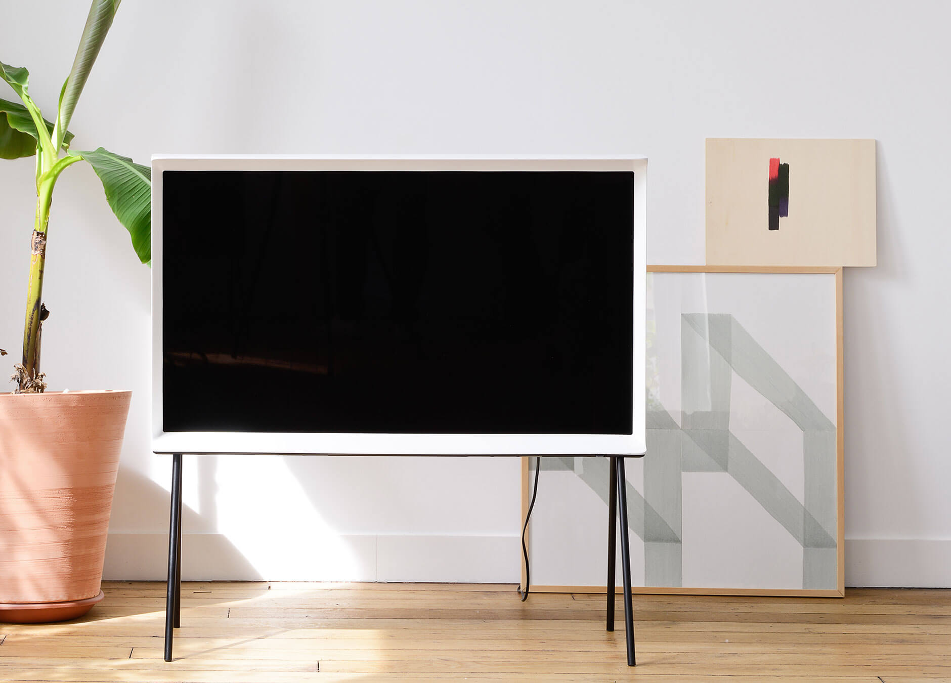 Samsung Introduces Classy Tv Series Serif Be Korea Savvy # Prix Table Tele