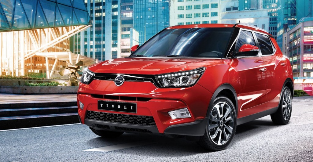 Thanks to the Tivoli, Ssangyong's domestic sales in August increased 45.7 percent over the same period of the previous year, and its accumulated sales also soared 37.6 percent over the same period. (image: Ssangyong Motor)