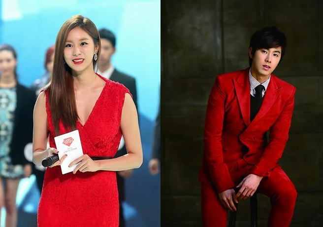 According to music industry officials, Uee attended the exit ceremony at the recruit training center in Yangju, Gyeonggi province. She was said to have attended the event to support U-Know Yunho, who exited the center that day. (image: Yonhap)