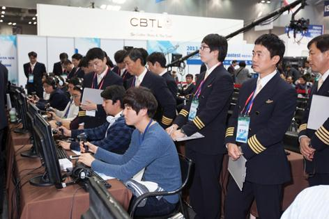 The Flight Simulation Contest in 2013. (Image : Flight Simulation Contest Blog)