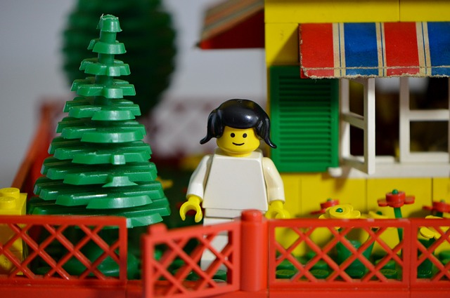 LEGO is an easy toy to start with, and offers kids the chance to make whatever they like. (Image : Pixabay)