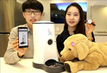 LG Uplus Rolls Out IoT-Equipped Devices for Pets