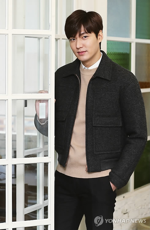 Actor Lee Min-ho is found to be the most beloved Korean star among Arabs. (Image : Yonhap)