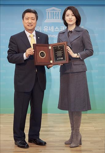 Actress Lee Young-ae has been appointed to be a special envoy for the UNESCO Korean Commission, the commission said Tuesday. (Image : Yonhap)