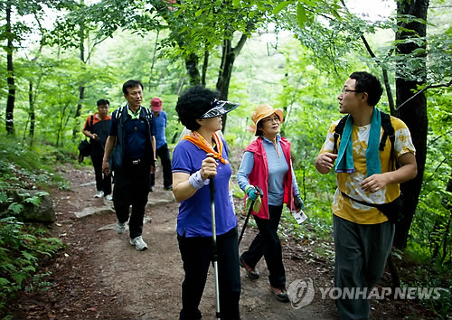 Jirisan Dulle-gil Walking Festival Opens Next Month