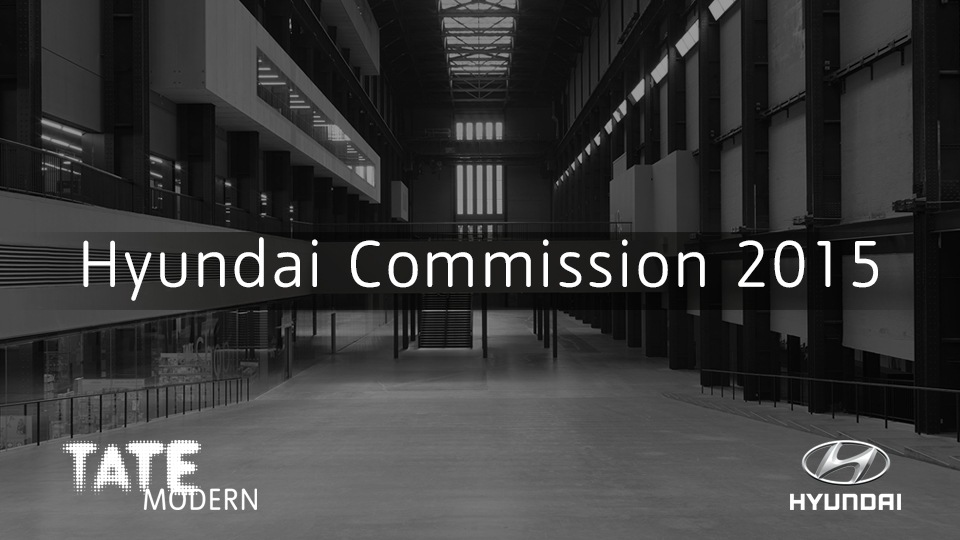 Hyundai Commission is an exhibition project Hyundai Motors is staging together with Tate Modern to enhance the development and popularization of modern art. (Image : Tate Modern Homepage)