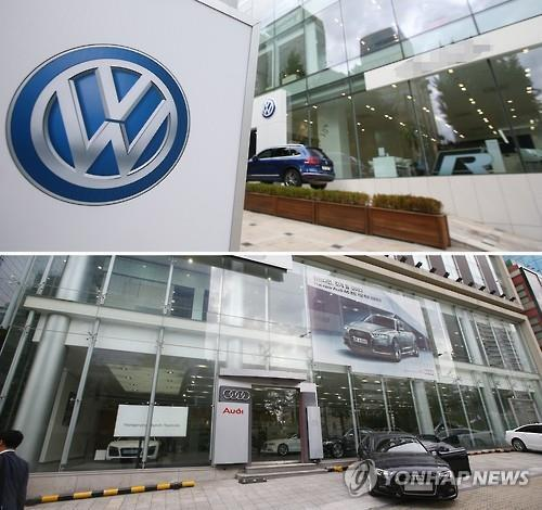 Penalties for violations of car safety and environmental standards are expected to reach as much as 10 billion won due to the recent Volkswagen emissions scandal. (Image : Yonhap)