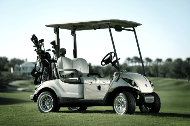 Yamaha's Golf Carts to Be Equipped with LG EV Batteries