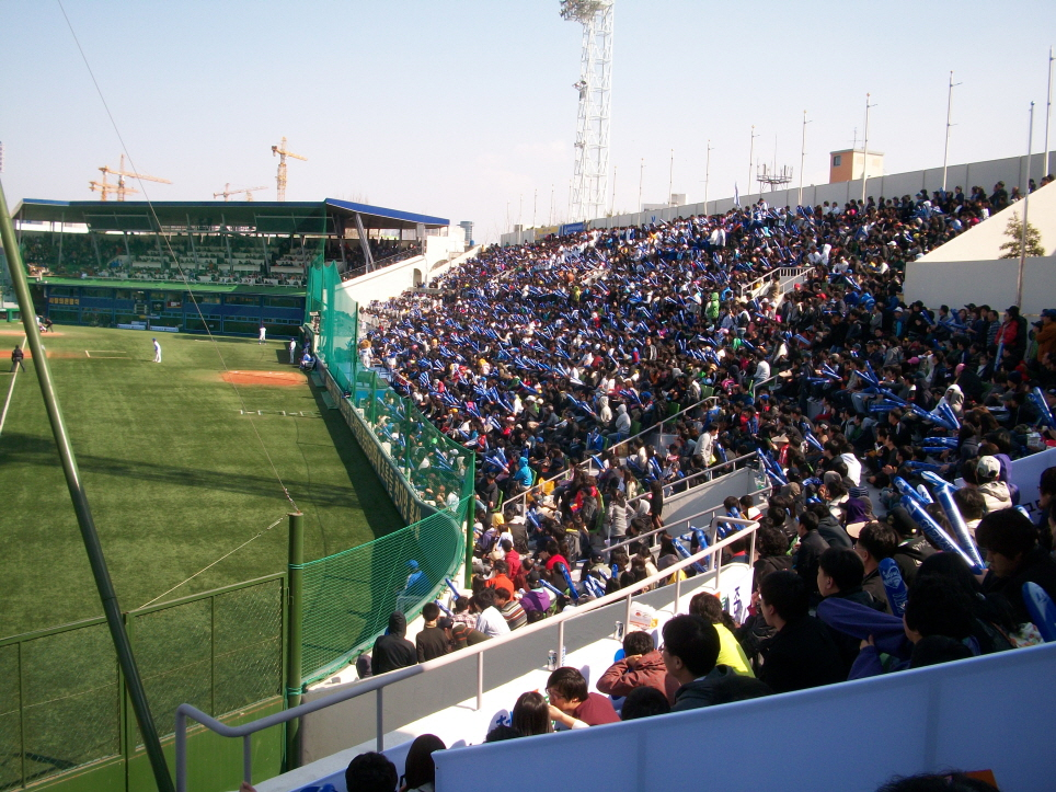 Daegu Baseball Stadium (image: Public Domain)