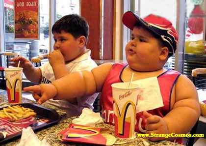 When a child doesn't have dinner with their parents, they usually tend to have fast food or other food that is high in calories and low in nutrients. (Image : www.strangecosmos.com / Google)
