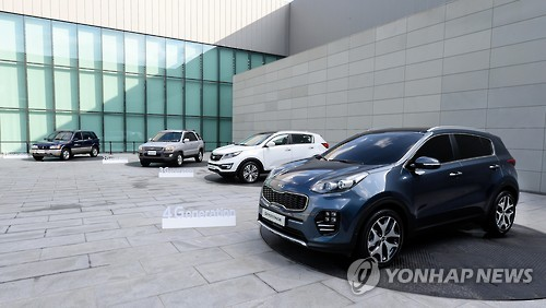 Hyundai Motor Co. and its smaller affiliate Kia Motors Corp. will likely see sales of their major SUV models exceed 100,000 units in Europe this year, industry data showed Wednesday. (Image : Yonhap)