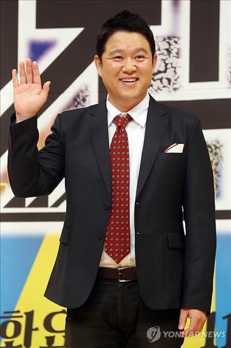 Comedian Kim Gu-ra was hospitalized in December 2014 because of panic attacks due to insomnia and ringing in his ears. (Image : Yonhap)