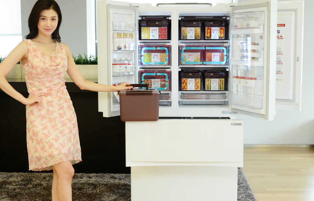 Sales of kimchi refrigerators have shown a sharp uptick in the past year. (Image : LG Electronics)