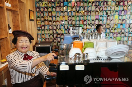 People over 60 who became temporary workers in the one-month period jumped 11.1 percent.