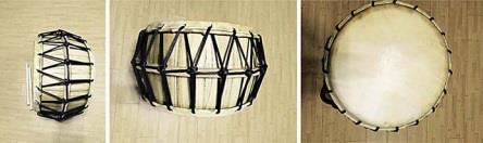 The traditional Korean drums used in the experiment. (Image : Extracted from the research paper)
