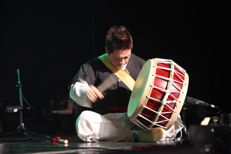 Traditional Korean Drum Sounds Suppress Acute Allergic Shocks