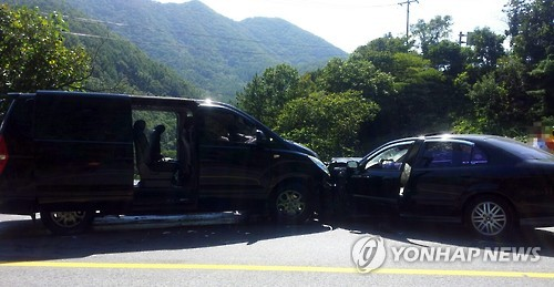 The number of accidents caused by foreigners driving without a valid driver's license has been increasing rapidly. (Image : Yonhap)