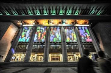 Media-Facade Pieces Exhibited at Sejong Art Center