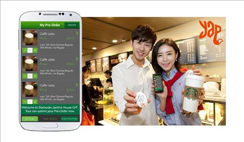S. Korean Mobile Coupon Firm Taps Starbucks in Hong Kong
