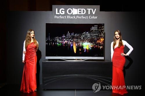 LG Electronics Inc.'s organic light-emitting diode (OLED) TV has received the best response from a U.S. consumer review magazine. (Image : Yonhap)