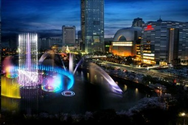 Lotte Dreaming Big with World Tower Duty Free Store
