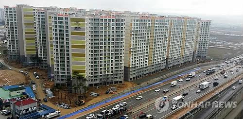 An apartment complex in Gwangju, some 330 kilomters south of Seoul (Image : Yonhap)