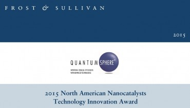 QuantumSphere Wins 2015 Frost & Sullivan Technology Innovation Award