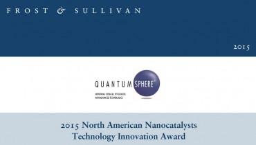 QuantumSphere Wins 2015 Frost & Sullivan Technology Innovation Award