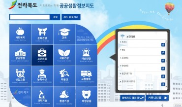 Jeonbuk Creates a Public Information Map