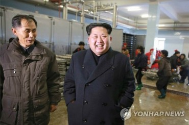 N. Korean Leader Visits Remodeled Education Center for Students
