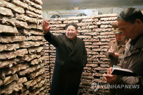 North Korean leader Kim Jong-un stated that his country has developed not only nuclear weapons but also hydrogen bombs, according to Pyongyang's state media Thursday. (Image : Yonhap)