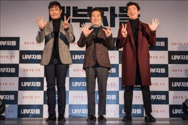 'Inside Men' Becomes 2nd-Most-Watched R-Rated Film in S. Korea