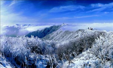 Danyang's Winter Wonderland Attracts Tourists