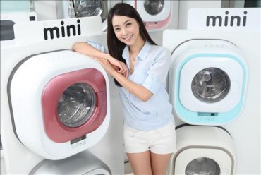 Wall-mounted 'Mini' Washing Machine Certified as World-Class Product