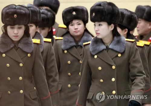 "China's foreign ministry on Monday said ""communication issues at the working level"" triggered the sudden cancellation of a well-publicized concert by an all-female band formed by the North's leader Kim Jong-un.  (Yonhap)"