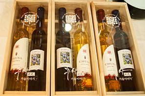 'Chusa Apple Wine' from Yesan, Chungnam Province. (Image : Chusa Apple Wine Homepage)