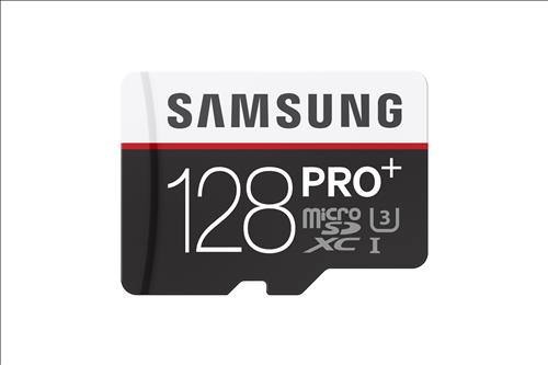 Samsung Electronics Co.'s PRO Plus 128GB microSD Memory Card (Image :  Samsung Electronics)