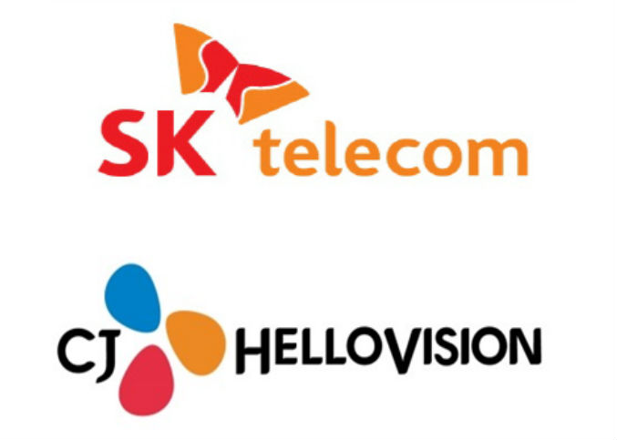 South Korea's No. 1 mobile carrier SK Telecom Co. vowed Wednesday to beef up its efforts to tap deeper into the media industry through the acquisition of the nation's top cable operator, amid rising criticism from its rivals over the deal. (Image : Yonhap)