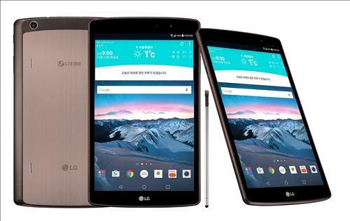 – LG Electronics has announced that it will launch its G Pad Ⅱ 8.3 LTE, a tablet capable of LTE data transfers, through LG U+. (Image : Yonhap)