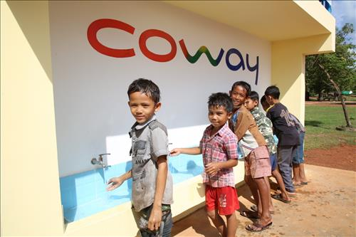 Corporate Philanthropy: Coway Keeps 1,000 Well Promise