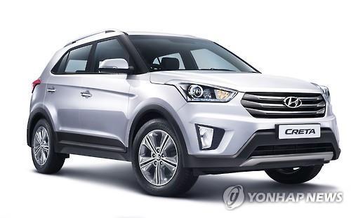 Hyundai Motor Co.'s crossover SUV Creta (Image : Yonhap)