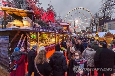 German 'Christmas Market' Open at Seoul Square