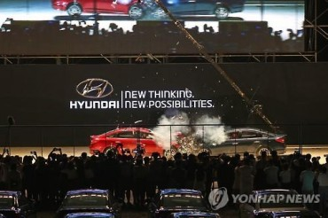Hyundai Management Come Face to Face with 'Antis'