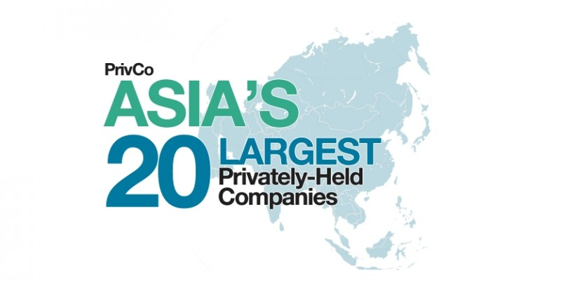 Asia's Largest Private Companies: The PrivCo Asia 20: Ranking the Largest Private Companies in Asia